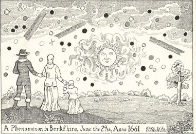 UFO phenomena of June 1661