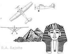 Leader Image exploring the possibility that ancient egyptians had technological knowledge of flight.