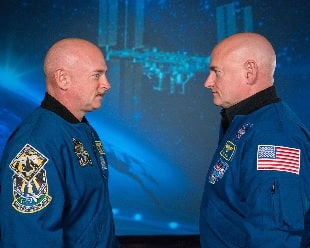Astronaut Scott Kelly and Twin Brother