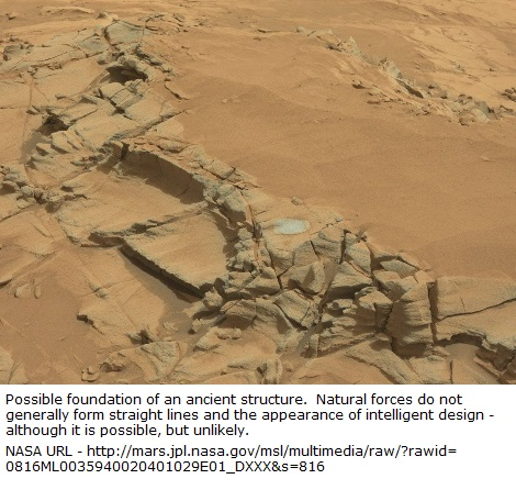 foundation on Mars