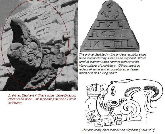 so called elephant statues in South America hailed as evidence of Chinese Pre Colombian contact.