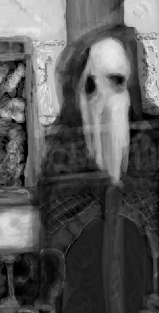 Enlargement of Newby Specter Ghost Image