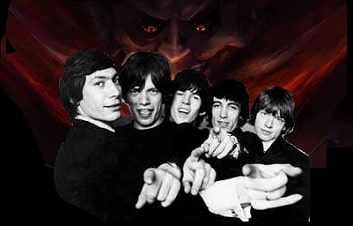 Image result for the rolling stones satanic